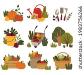 husbandry and farming with...   Shutterstock .eps vector #1983756266