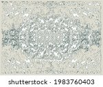 antique traditional classic rug ...   Shutterstock .eps vector #1983760403