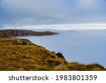 A River Of Fog On The Very...