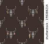 vector seamless pattern with... | Shutterstock .eps vector #198388214