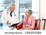 male doctor in consultation... | Shutterstock . vector #198392084
