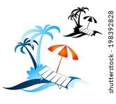 design for travel and... | Shutterstock .eps vector #198392828