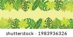 tropical nature leaves... | Shutterstock .eps vector #1983936326