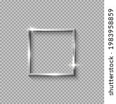 silver square frame for picture ... | Shutterstock .eps vector #1983958859