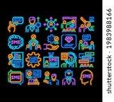 sme business company neon light ...   Shutterstock .eps vector #1983988166