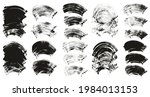 flat fan brush thick curved... | Shutterstock .eps vector #1984013153