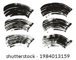flat fan brush thick curved... | Shutterstock .eps vector #1984013159