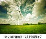 clean green energy | Shutterstock . vector #198405860