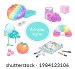set of popular antistress... | Shutterstock .eps vector #1984123106