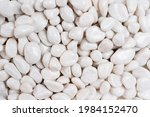 White Pebbles Stone Texture And ...