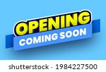coming soon opening banner on... | Shutterstock .eps vector #1984227500