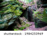 Germany  Gallengrotte Caves...