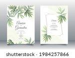 wedding invitation card...   Shutterstock .eps vector #1984257866