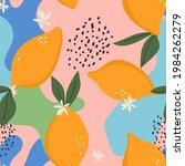 vector trendy pattern in doodle ...   Shutterstock .eps vector #1984262279