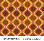 retro curves seamless pattern.... | Shutterstock .eps vector #1984283330