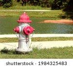 Fire Hydrant Along The Sidewalk ...