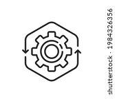 thin line operation easy...   Shutterstock .eps vector #1984326356