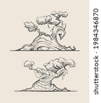 sketches of unusual fantasy... | Shutterstock .eps vector #1984346870