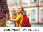portrait of child going back to ...   Shutterstock . vector #1984378319