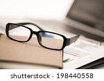 businessman analyzing... | Shutterstock . vector #198440558