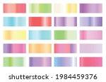 metalic gradient collection...   Shutterstock .eps vector #1984459376