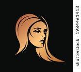 hair salon and beauty studio...   Shutterstock .eps vector #1984461413