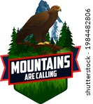 the mountains are calling.... | Shutterstock .eps vector #1984482806