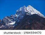 kantenga mount in himalayas.... | Shutterstock . vector #1984554470