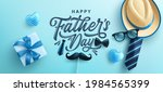 father's day poster or banner... | Shutterstock .eps vector #1984565399