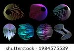 Retrofuturistic Circle Design...