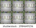 summer background. sale banner... | Shutterstock . vector #1984649156