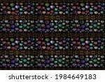 blue  green and black textured... | Shutterstock . vector #1984649183