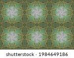 art deco patterns on neutral ... | Shutterstock . vector #1984649186