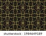 seamless oriental ornament in... | Shutterstock . vector #1984649189