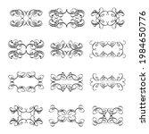 set of vector graphic elements...   Shutterstock .eps vector #1984650776