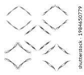 set of vector graphic elements...   Shutterstock .eps vector #1984650779