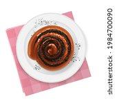 cinnamon or poppy seeds or ... | Shutterstock .eps vector #1984700090