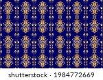 raster seamless pattern on... | Shutterstock . vector #1984772669