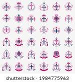 crosses secrets emblems vector...   Shutterstock .eps vector #1984775963