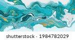 luxury wallpaper. blue marble... | Shutterstock .eps vector #1984782029