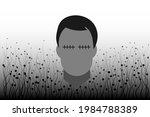 black mold  fungus  covid 19... | Shutterstock .eps vector #1984788389