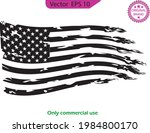 usa flag. distressed american... | Shutterstock .eps vector #1984800170