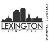 lexington  ky  usa skyline... | Shutterstock .eps vector #1984865216