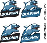 logo club dolphin angry...   Shutterstock .eps vector #1984882199