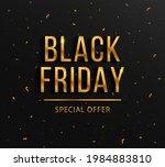 background for black friday ... | Shutterstock .eps vector #1984883810