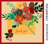 paper letter in an envelope... | Shutterstock .eps vector #1984889306