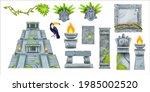 Aztec Maya Ancient Culture Set  ...