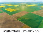landscape aerial view from hot... | Shutterstock . vector #1985049773