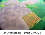 landscape aerial view from hot... | Shutterstock . vector #1985049776
