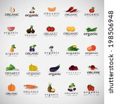 vegetables icons set   ...